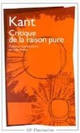 Kant Critique raison pure