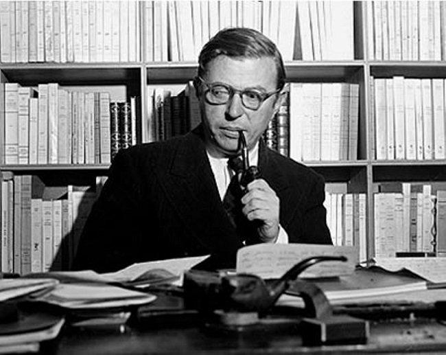 Photo de Jean-Paul Sartre